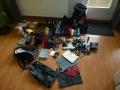 Inhoud van de backpack